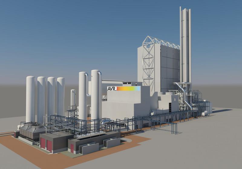AVR bouwt als éérste in Nederland CO2 -afvanginstallatie