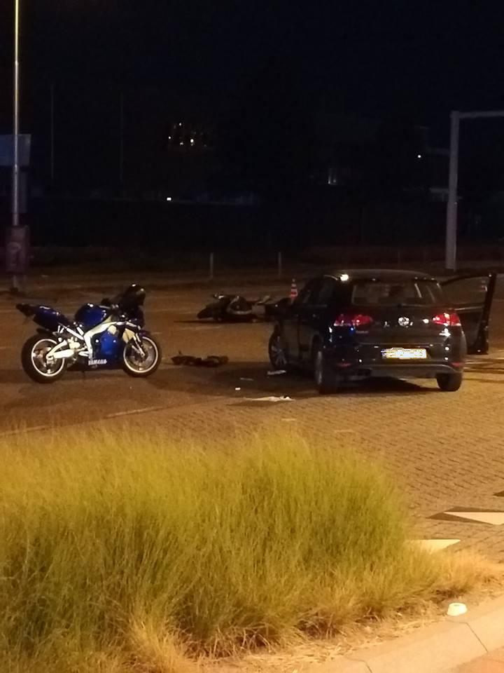 Motorrijder raakt zwaargewond bij aanrijding