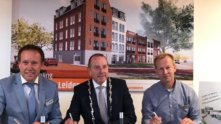Koopovereenkomst ondertekend door Ten Brinke Slot Projectontwikkeling en gemeente Duiven