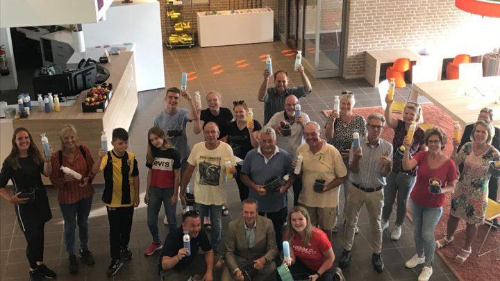 Wethouder Johannes Goossen wenst Vierdaagselopers uit gemeente Duiven succes!