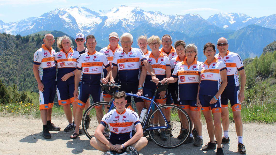 Team Duiven Alpe d'HuZes haalt enorm bedrag op voor KWF