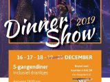 Beleef in december een spectaculaire dinnershow in de OGtent in Duiven.
