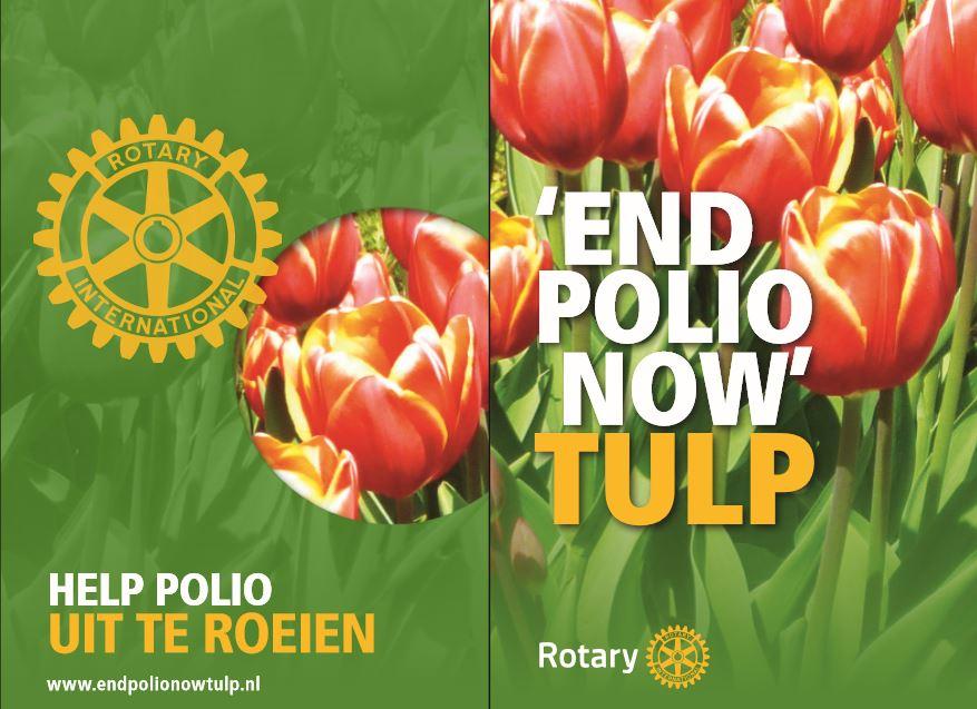 Actie End Polio Now van Rotary Clubs in de regio