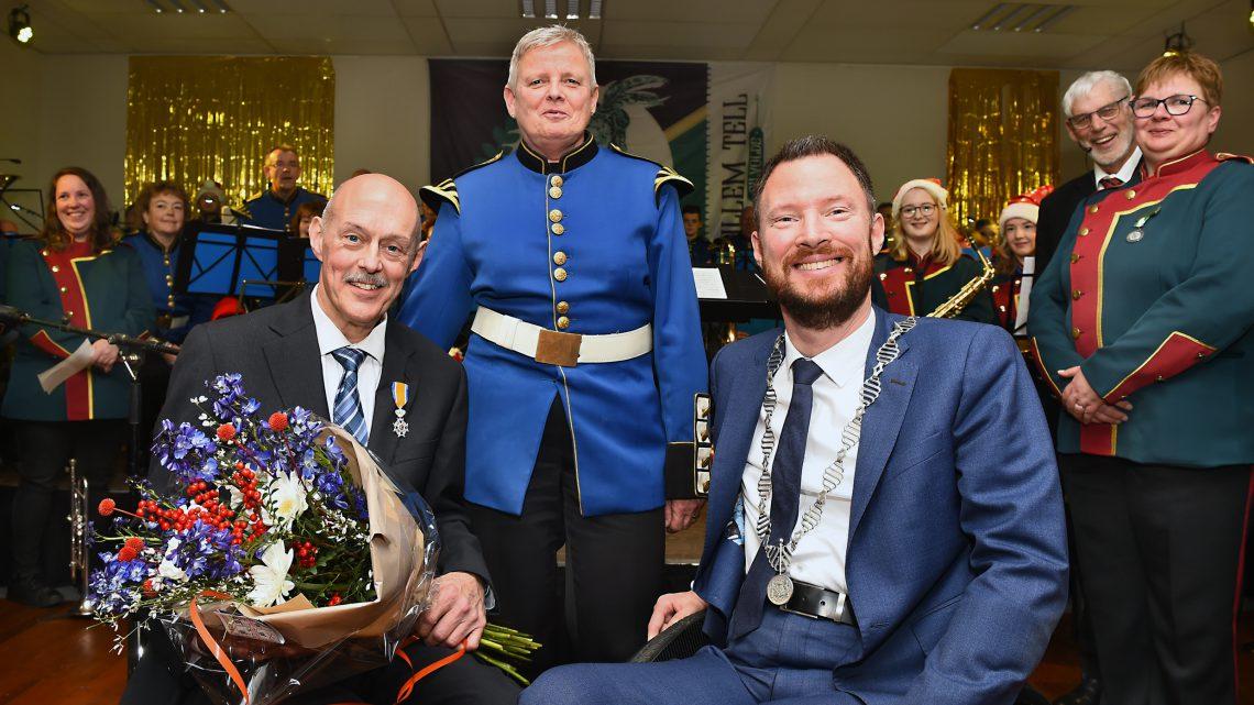 Koninklijke onderscheiding voor Fred van Hummel