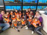 Peuters kinderopvang brengen bezoek aan Sascha Diertotaal in het kader van de Nationale Voorleesdagen