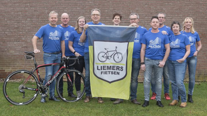 Alpe d'HuZes Liemers Fietsen Spinningmarathon!