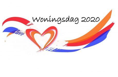 Koningsdag 2020 wordt Woningsdag