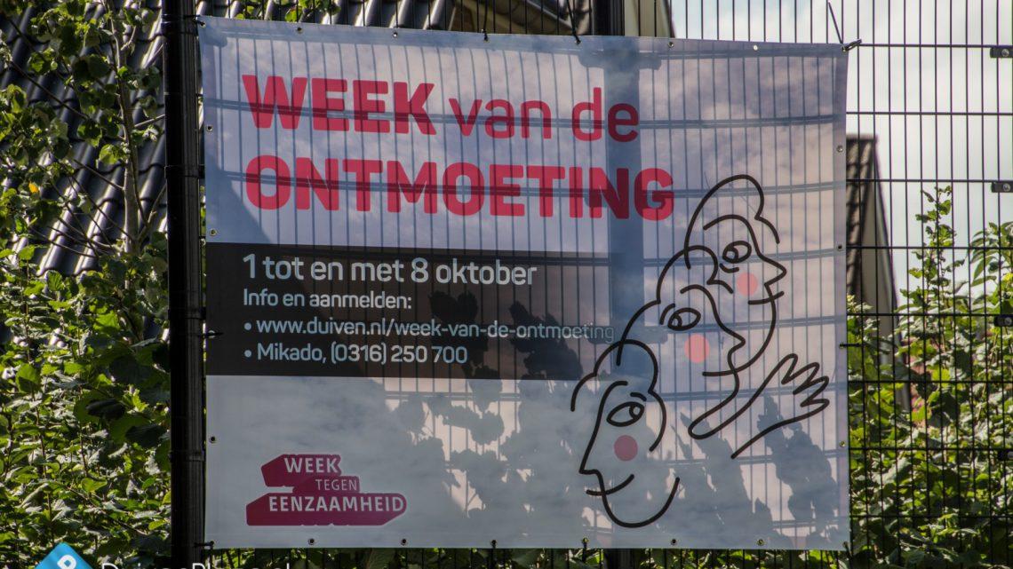 Week van de Ontmoeting, van 1 t/m 8 oktober geannuleerd !!!