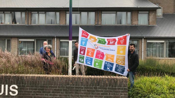 Gemeente Duiven hijst Global vlag
