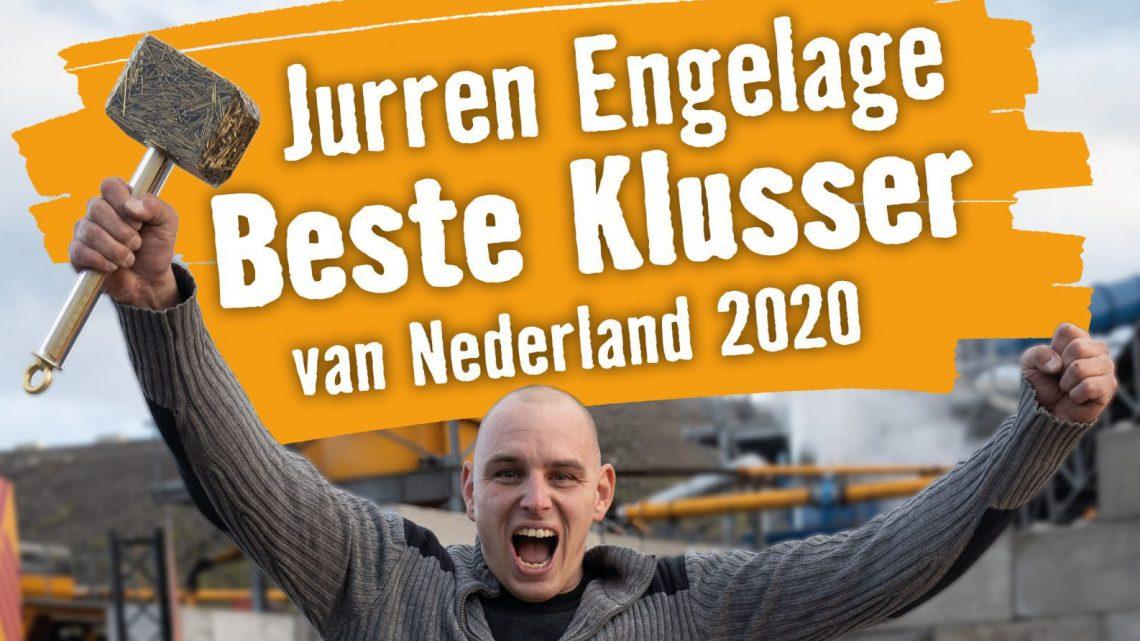 Jurren Engelage uit Groessen is de Beste Klusser van Nederland