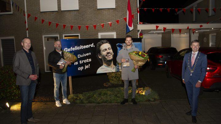 Gemeente Duiven is trots op prestaties van tennisser Wesley Koolhof en zijn trainer Marco Kroes