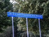 Langste straatnaambord van Nederland weer gestolen