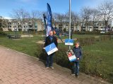 Kinderburgemeester maakt speeltuin Eilandplein rookvrij