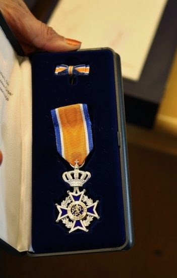 Uitreikingen Koninklijke onderscheidingen gemeente Duiven