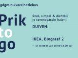 De vaccinatiebus komt naar Duiven